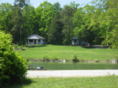 picture of cabin from the store